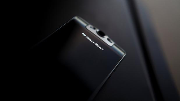 Detalle de un móvil de la firma canadiense