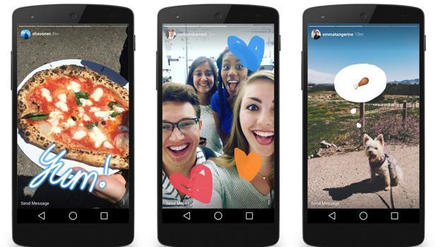 Instagram Stories, a la zaga de Snapchat: ya tiene 100 millones de usuarios