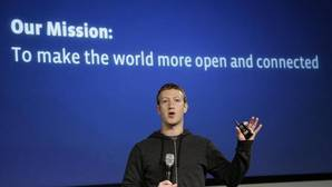 Mark Zuckerberg, fundador de Facebook, durante la presentación de internet.org