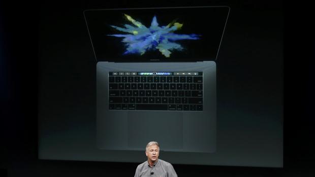 El nuevo MacBook Pro estrena Touch Bar, una pantalla secundaria con tecnología Multi-Touch