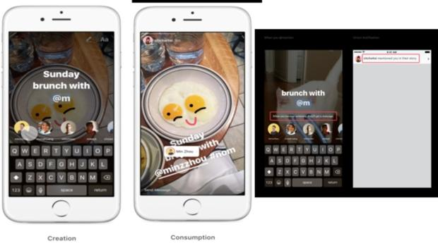 Instagram refuerza Stories con enlaces, menciones y videos divertidos
