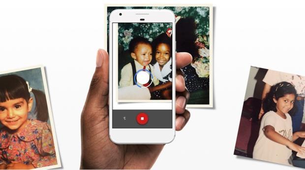 La práctica «app» de Google para escanear fotos antiguas con tu móvil