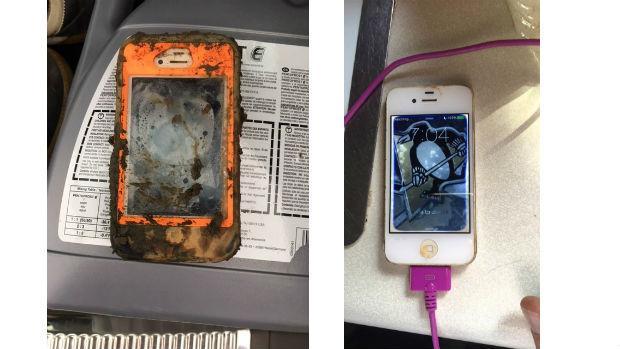 La increíble historia del iPhone 4 que funciona tras un año sumergido en el fondo de un lago helado