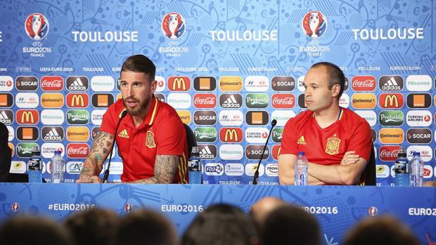 Iniesta y Sergio Ramos, los españoles que triunfan en Instagram