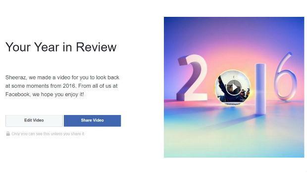 Facebook: crea tu resumen del año 2016
