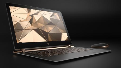 Detalle del ordenador portátil