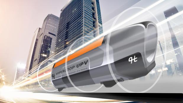 El prototipo de Hyperloop que han diseñado los jóvenes españoles