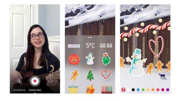 Instagram Stories lanza el modo manos libres para grabar