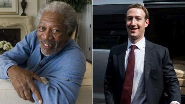 Morgan Freeman será el «mayordomo» de Zuckerberg