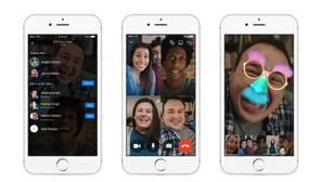 Facebook Messenger permite hacer videollamadas grupales de hasta 50 personas