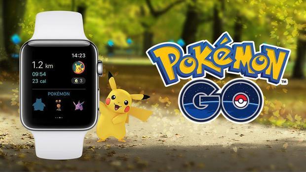 Ya puedes jugar a Pokémon Go desde tu Apple Watch