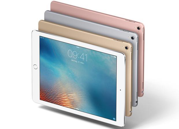 Detalle del iPad Pro