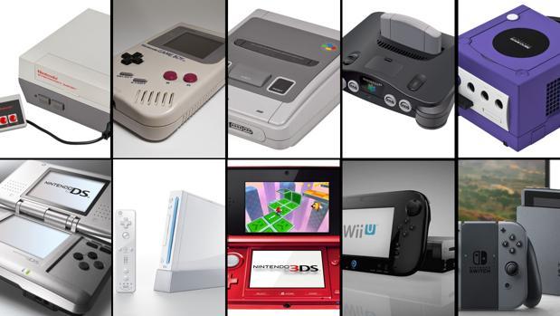 Consolas de Nintendo