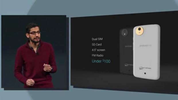 Google podría lanzar en 2017 el primer móvil con Android One en EE.UU.
