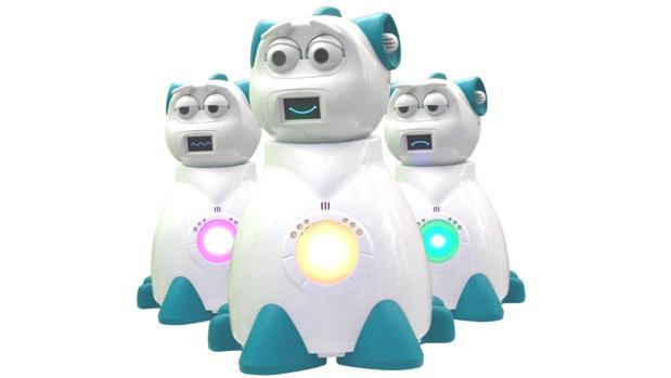 Aisoy1 KiK, el robot educativo español que incluye un motor emocional