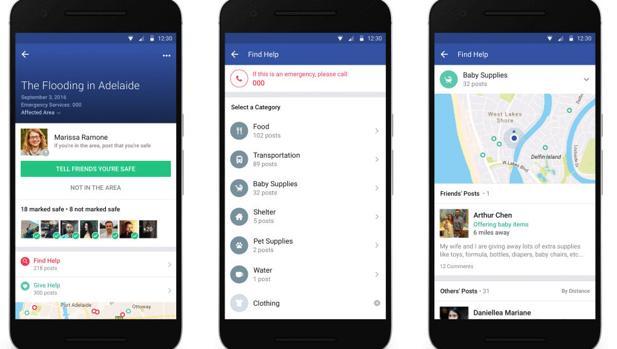 Facebook mejora Safety Check con una nueva herramienta: Community Help