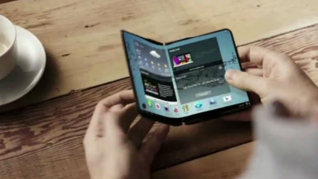 Samsung podría sorprender con un «smartphone» plegable en el MWC de Barcelona
