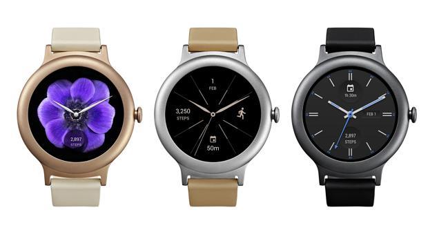 Así son los nuevos «smartwatches» de Google y LG con Android 2.0