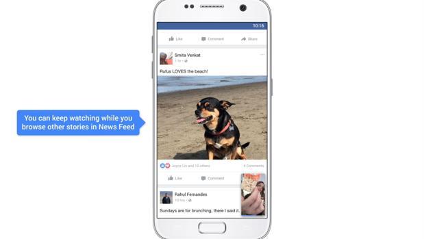 Facebook activa la reproducción automática del sonido en los vídeos por defecto