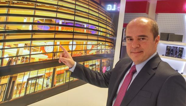 Jaime de Jaráiz, presidente de LG España y Portugal