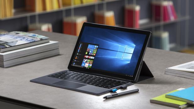 Dwtalle de la nueva tableta de la firma que incorpora el sistema operativo Windows 10