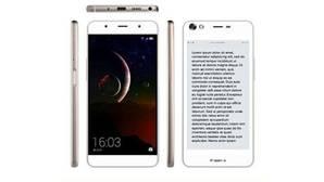 Hisense insiste en «smartphone» con dos pantallas: una «normal» y otra para leer