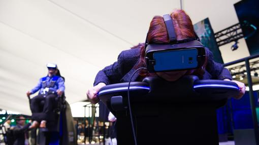El espacio de Samsung dedicado a la RV