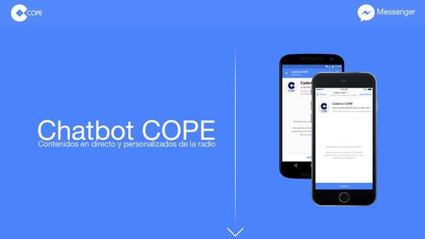 COPE se convierte en el primer medio en España en lanzar un «chatbot» con «streaming» en directo