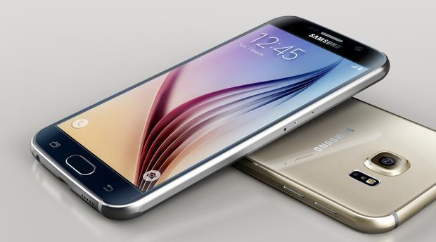 Detalle del modelo más actual, el Galaxy S7