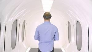 Así es la cápsula del Hyperloop en la que viajarán hasta 40 pasajeros