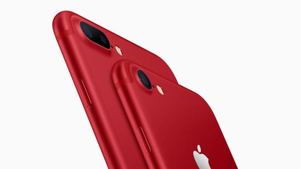El iPhone 7 se convierte al rojo