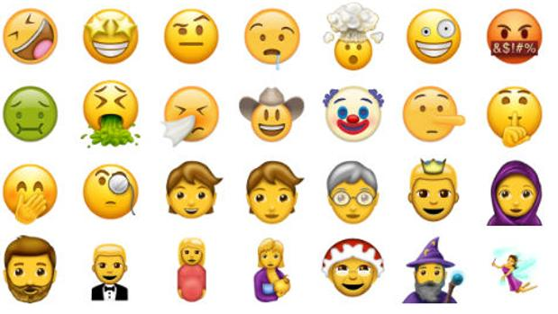 Más de 100 nuevos «emojis» llegarán a partir de junio