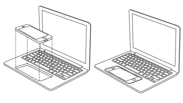 Bocetos presentados por Apple para solicitar la patente