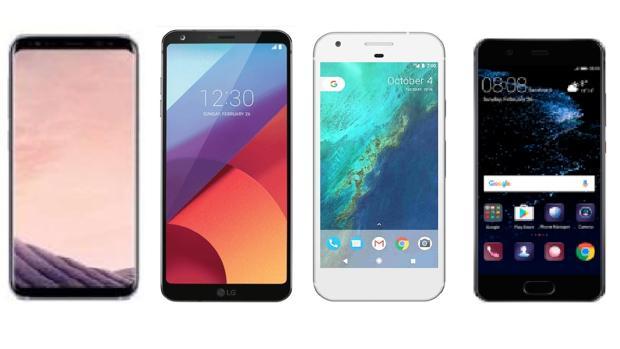 Samsung Galaxy S8 frente a sus rivales Android: ¿cuál es mejor?