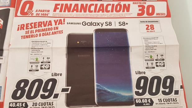 Así «troleó» Media Markt a Samsung el día de la presentación del Galaxy S8