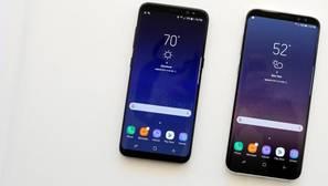Detalle de los nuevos Galaxy S8 de Samsung