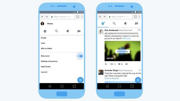 Twitter se lanza a la conquista de los países emergentes con una versión Lite que consume menos datos