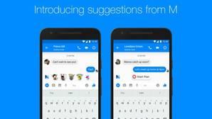 Facebook lanza en Messenger M, su propio asistente de voz inteligente