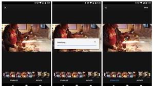 Google Fotos añade un estabilizador para los vídeos