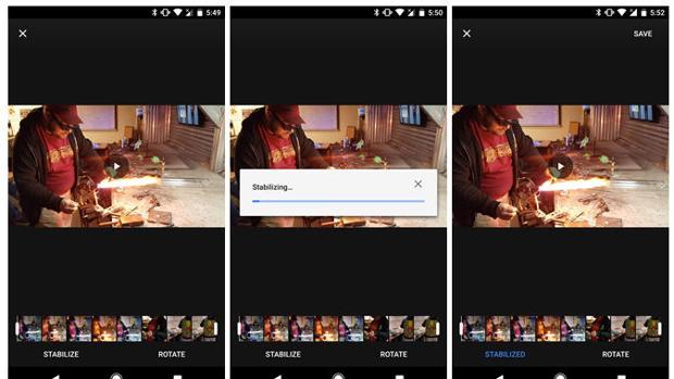 Google Fotos añade a su aplicación móvil un estabilizador para los vídeos