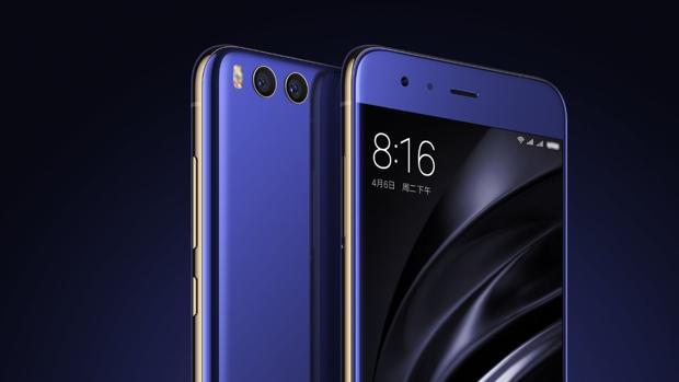 Detalle del nuevo dispositivo móvil de la firma china, el Mi 6