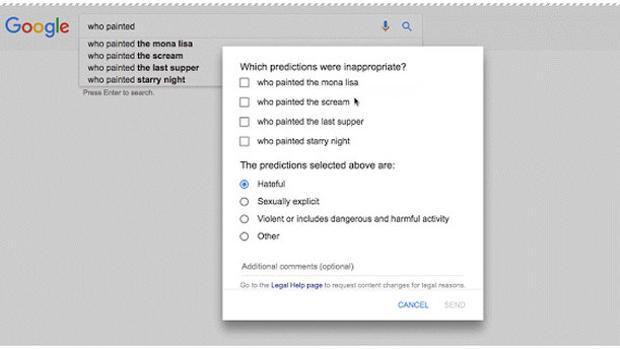 Mejoras en Google Search