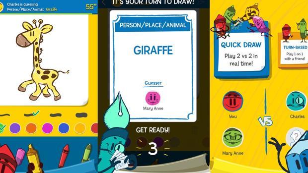El popular Pictionary se convierte en «app»