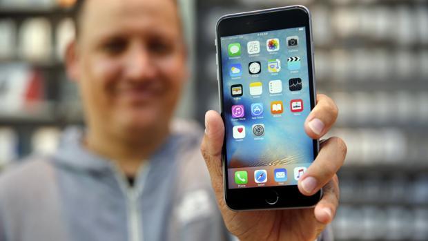 Imagen de archivo de un iPhone 6S Plus