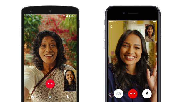 WhatsApp es también el «rey» de las videollamadas