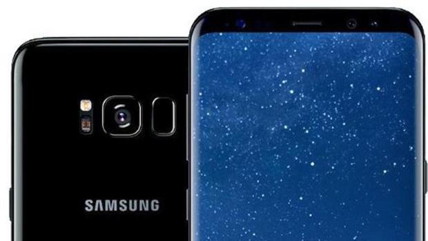 Detalle del Samsung Galaxy S8