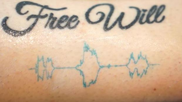 «Soundwave tatto», un nuevo tipo de tatuaje que reproduce audios
