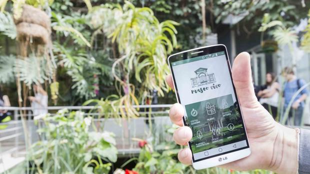 «RJB Museo Vivo», una aplicación para sentir el Jardín Botánico