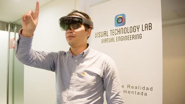 Gafas de realidad aumentada aplicadas a la construcción