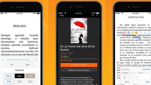 Aplicaciones para leer libros electrónicos